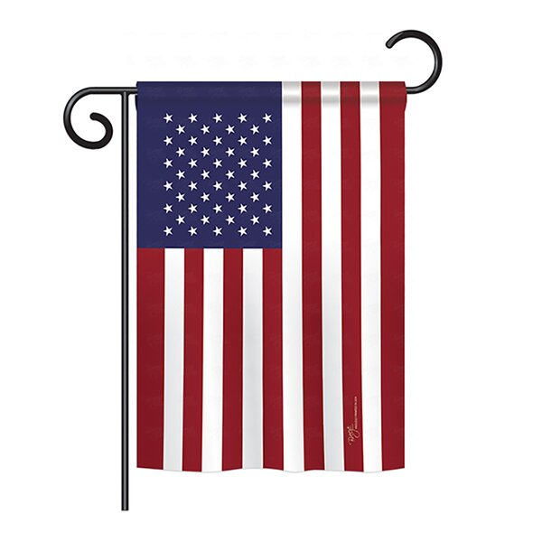 USA 2-Sided Vertical Flag by Breeze Decor