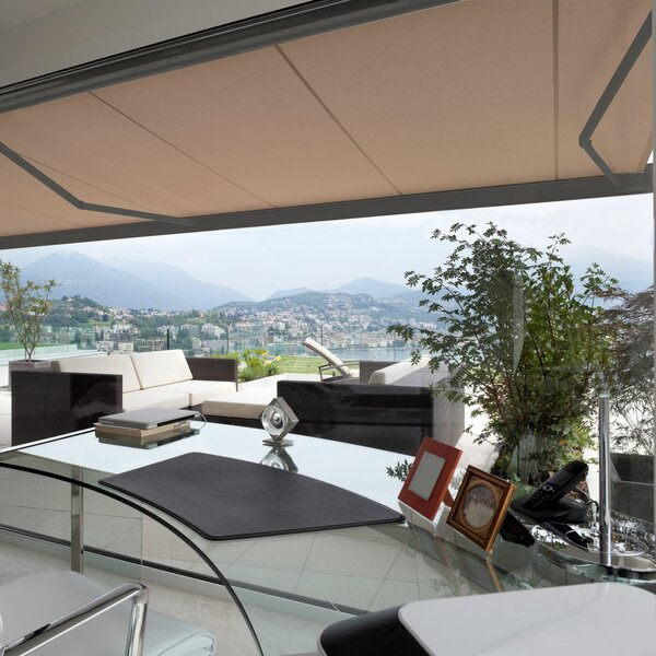 Classic Series Retractable Patio Awning by Advaning