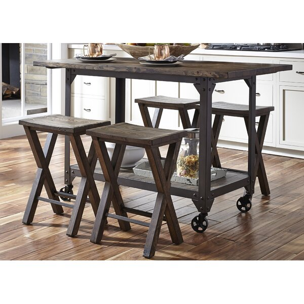 Gillan 5 Piece Pub Table Set by Gracie Oaks