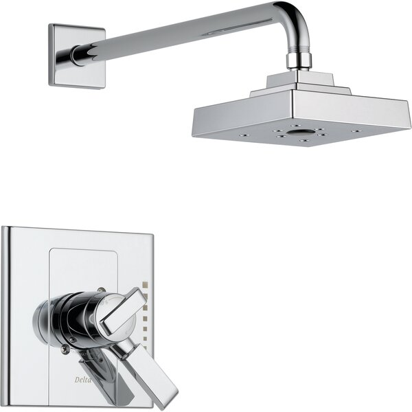 Urban - Arzo Shower Faucet Trim with Lever Handles and H2okinetic Technology by Delta