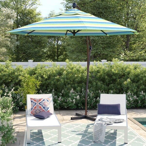 Capri 9' Cantilever Sunbrella Umbrella By Sol 72 Outdoor by Sol 72 Outdoor Savings