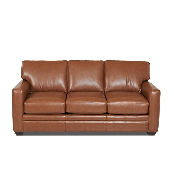 Leather Sofa By Klaussner Furniture