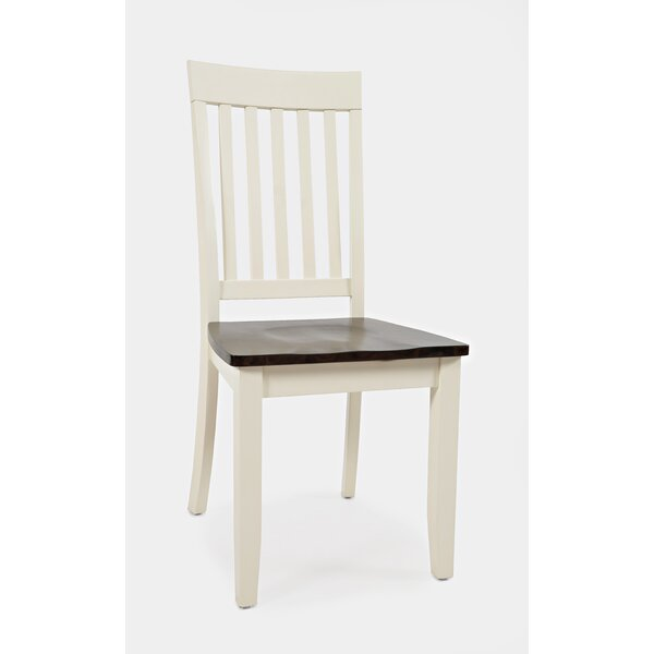 Lomba Solid Wood Dining Chair (Set of 2) by Charlton Home