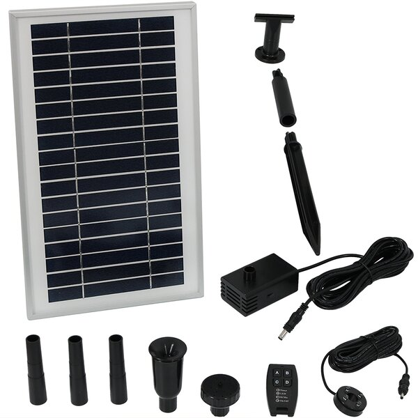 Plastic Solar Pump by Wildon Home ®