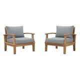 Farmhouse Rustic Armchair Patio Lounge Chairs Birch Lane
