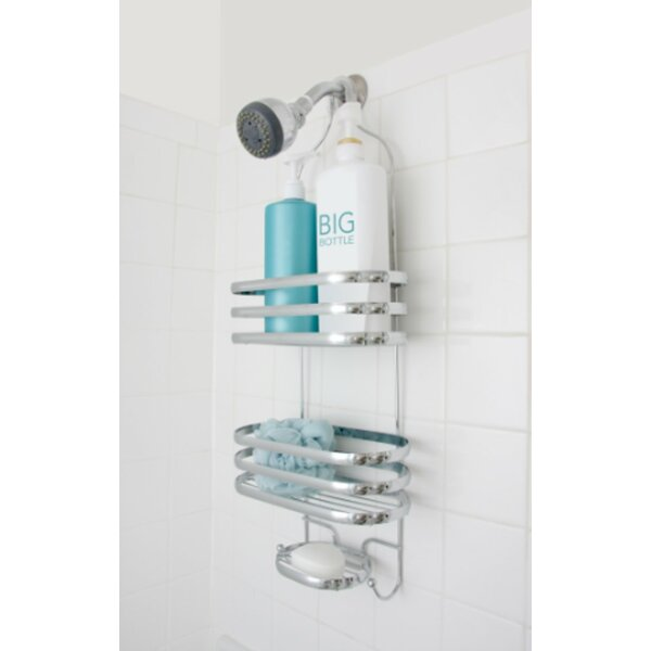 Behan Stripe Shower Caddy by Rebrilliant