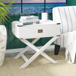 Antonina End Table with Storage by Beachcrest Home SKU:BD736926 Reviews