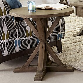 Samar End Table By 17 Stories