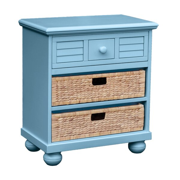 Friedrich 1 Drawer Nightstand by Highland Dunes