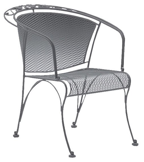 Briarwood Coil Spring Patio Chair by Woodard