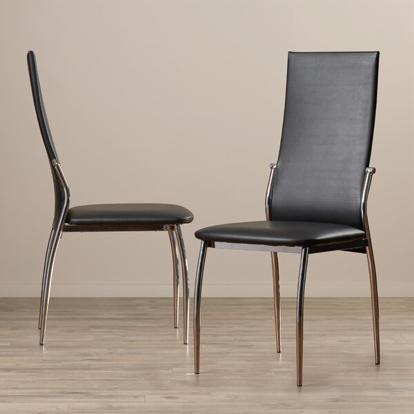 Jaxson Upholstered Dining Chair (Set of 2) by Wade Logan