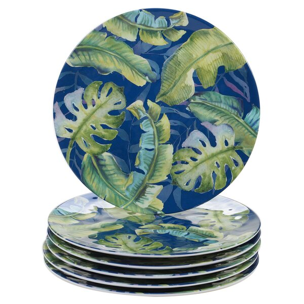 Edison Melamine Dinner Plate (Set of 6) by Bay Isle Home