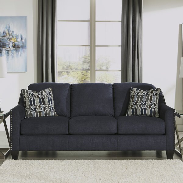 Cool Trendy Canchola Sofa by House of Hampton by House of Hampton