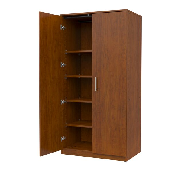 Mobile CaseGoods 2 Door Storage Cabinet by Marco Group Inc.