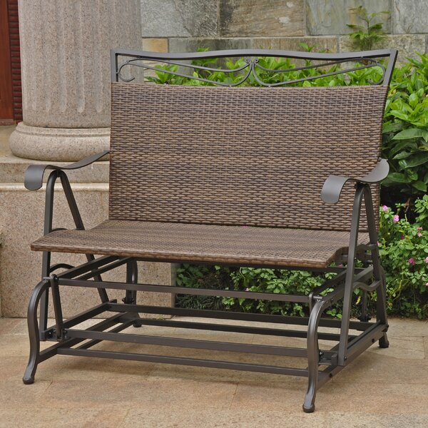 Stapleton Indoor/Outdoor Double Glider Bench by Charlton Home