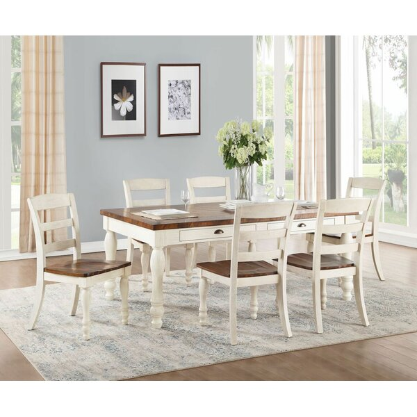 Liyuan 7 Pieces Dining Set by August Grove
