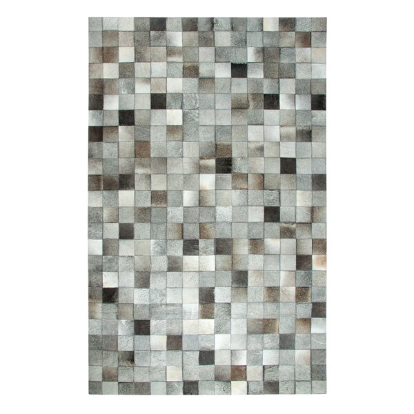 Leatherwork Gray Area Rug by Dynamic Rugs