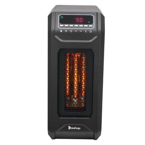Portable 1,500 Watt Electric Infrared Cabinet Heater By Ktaxon
