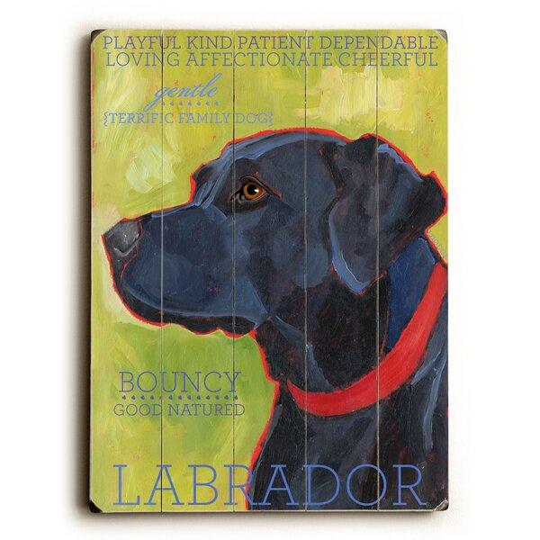 Labrador Graphic Art by Artehouse LLC