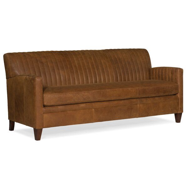 Barnabus Leather Sofa By Bradington-Young