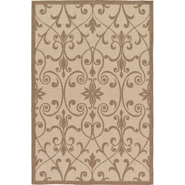 Gerald Brown Outdoor Area Rug by Charlton Home