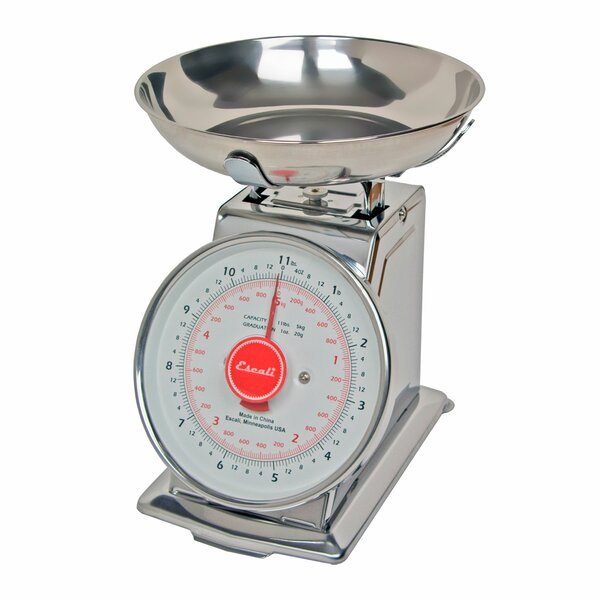 Mercado 11lbs Dial Scale with Bowl by Escali