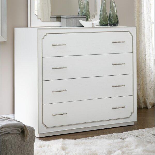 Romance 4 Drawer Standard Dresser by Hooker Furniture