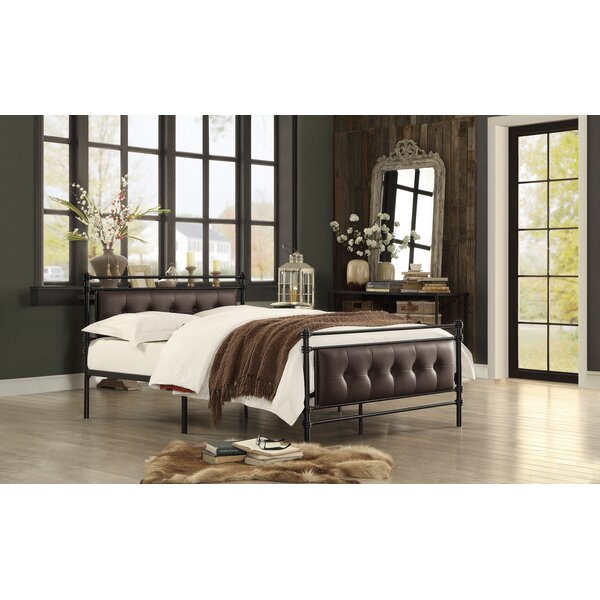 Great price Farkas Full/Double Upholstered Platform Bed By Red Barrel Studio 2019 Online