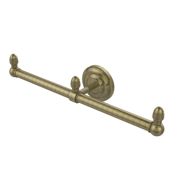 Que New 2 Arm Guest Wall Mounted Towel Bar by Allied Brass