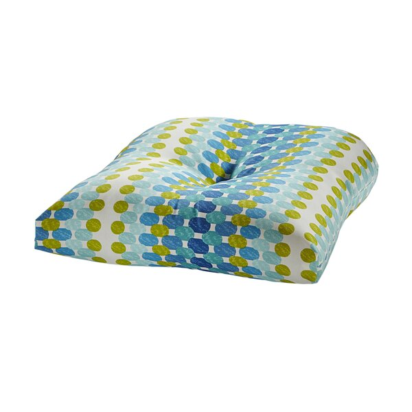 Indoor/Outdoor Dining Chair Cushion By Bungalow Rose