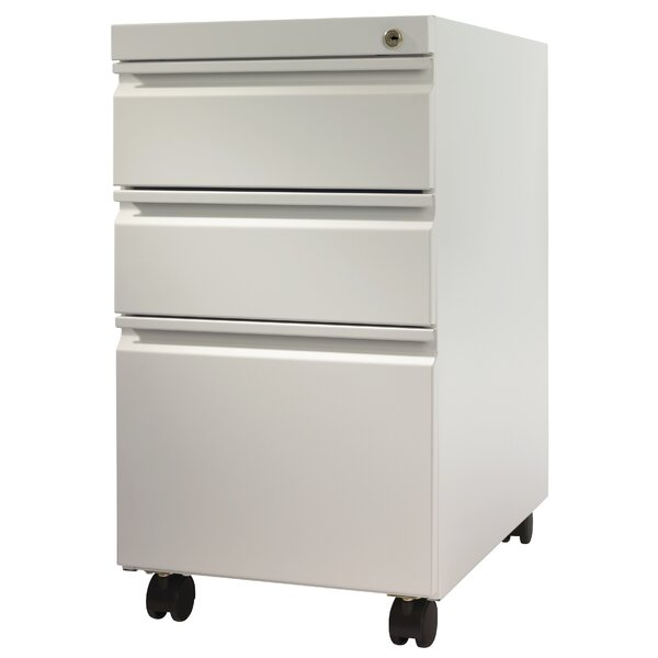 @ Pedestal 3-Drawer Mobile Vertical Filing Cabinet by Trendway| #$340.00!