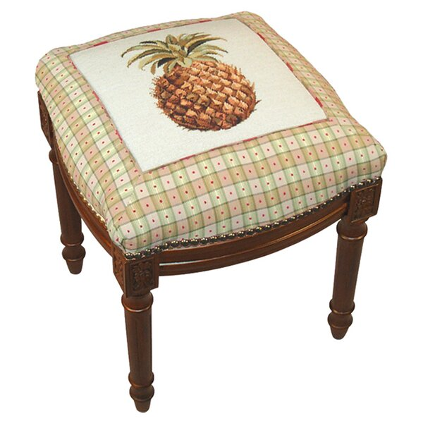 Pineapple Accent Stool by 123 Creations