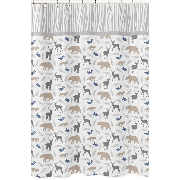 Woodland Animals Shower Curtain by Sweet Jojo Designs