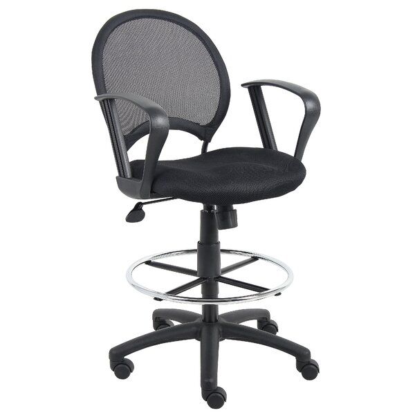 Mesh Drafting Chair by Boss Office Products