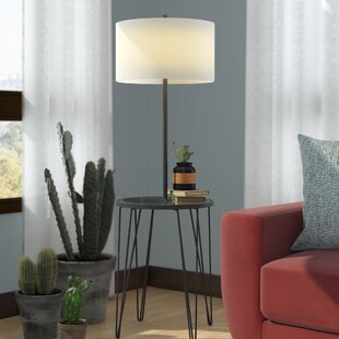 Comparison Dellinger Side Table 58 Floor Lamp By Ivy Bronx