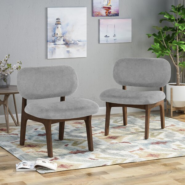 Bohannon Upholstered Dining Chair (Set of 2) by Corrigan Studio