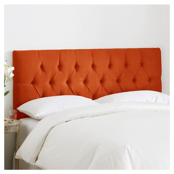 Leighton Upholstered Panel Headboard by Skyline Furniture