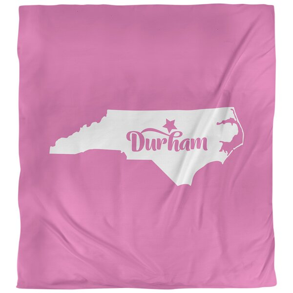Durham North Carolina Duvet Cover