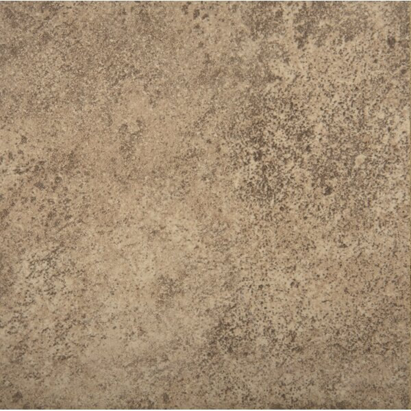 Toledo 17 x 17 Ceramic Field Tile in Brown by Emser Tile
