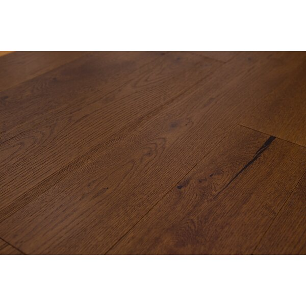 Santorini 5 Engineered Oak Hardwood Flooring in Toffee by Branton Flooring Collection