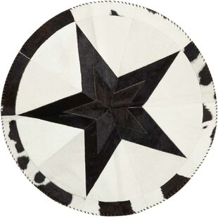 Best Price Arcata Black/White Area Rug ByLoon Peak