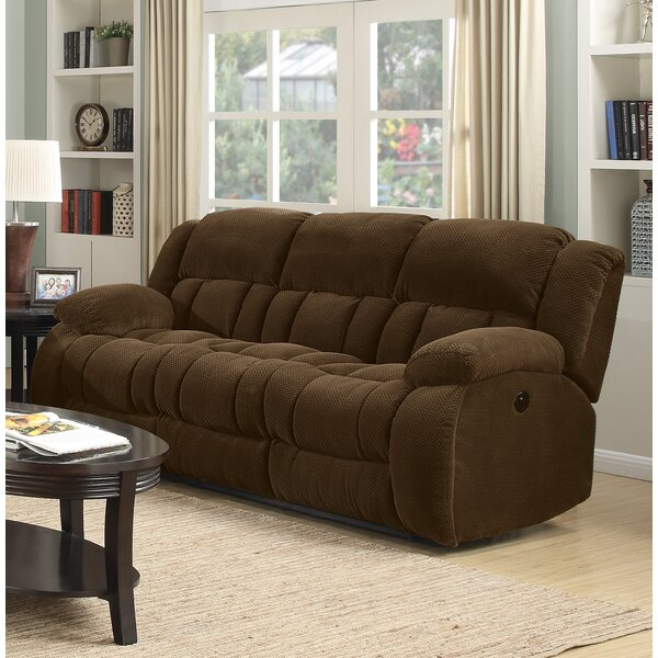 Perfect Shop Bolander Reclining Sofa by Red Barrel Studio by Red Barrel Studio