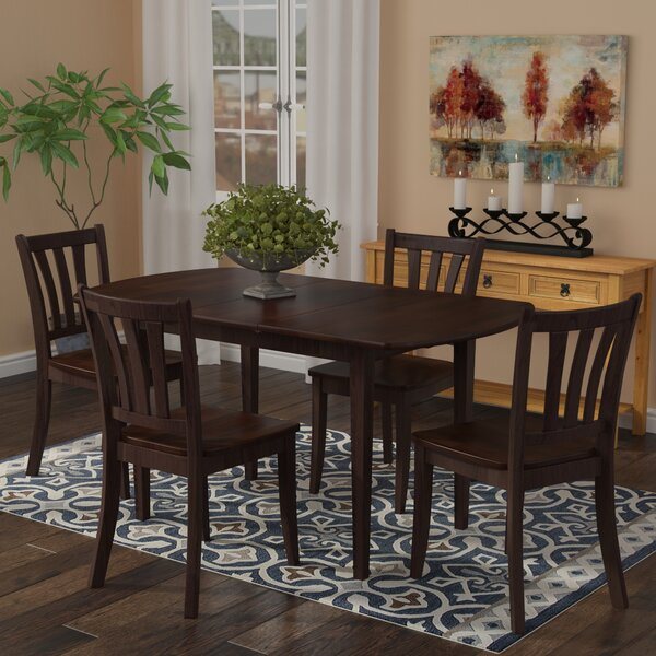 Amazing Pico 5 Piece Extendable Solid Wood Dining Set By Alcott Hill Wonderful