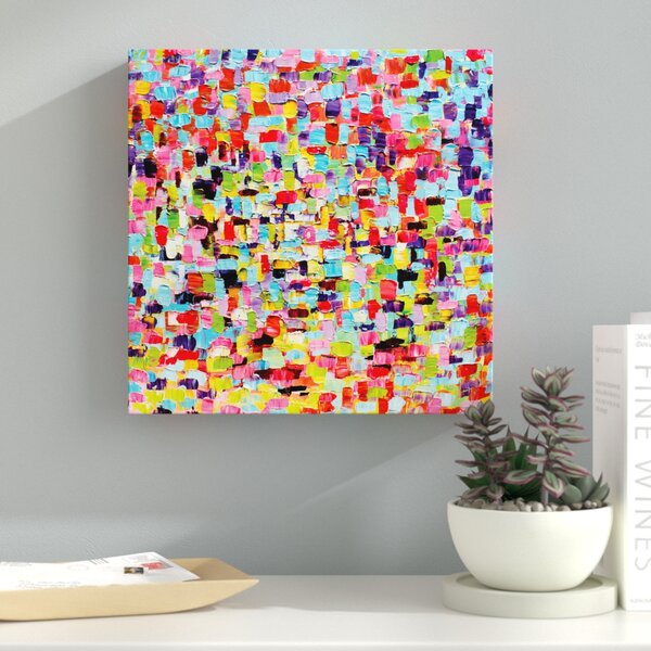 A Touch of Color Painting Print by Latitude Run