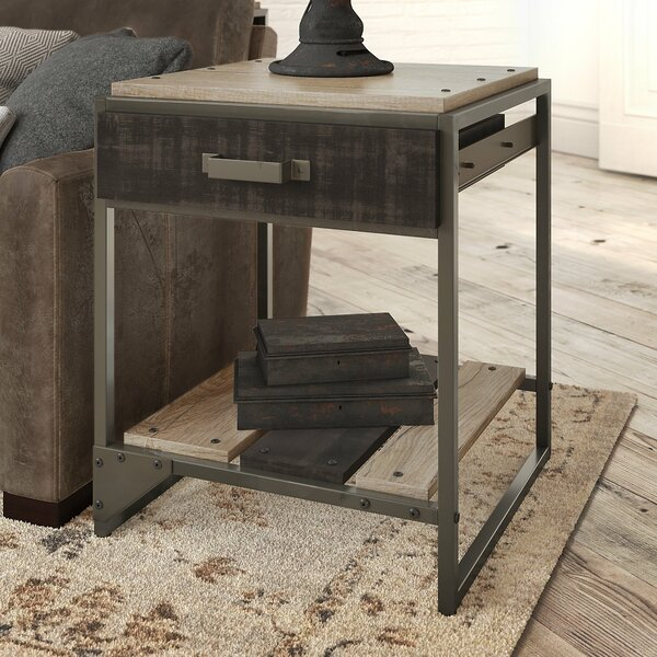Edgerton End Table by Greyleigh