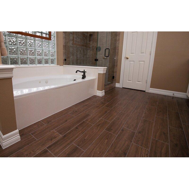 Emser Tile Grove X Ceramic Wood LookField Tile In Manor - 6x24 tile designs