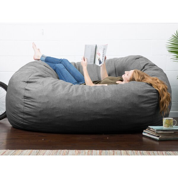 Fine Extra Large Bean Bag Bed Wayfair Ca Creativecarmelina Interior Chair Design Creativecarmelinacom