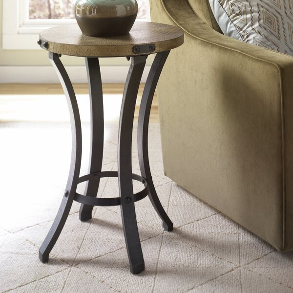 Hassani Contemporary End Table by Bloomsbury Market