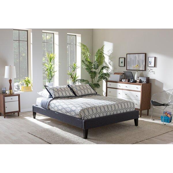 Newport Upholstered Platform Bed by Ebern Designs
