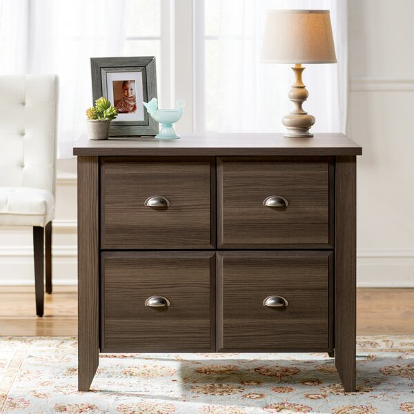 Revere 1 Drawer Lateral Filling Cabinet by Andover Mills